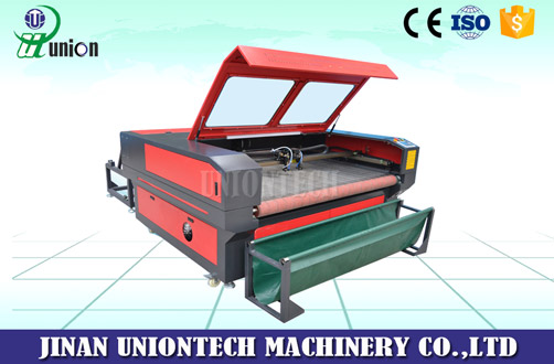 1610 fabric laser cutting machine