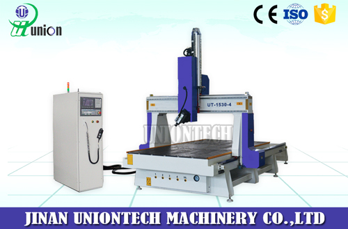 4 axis cnc router UT-1530-4 axis